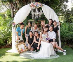 intimate wedding at masons29
