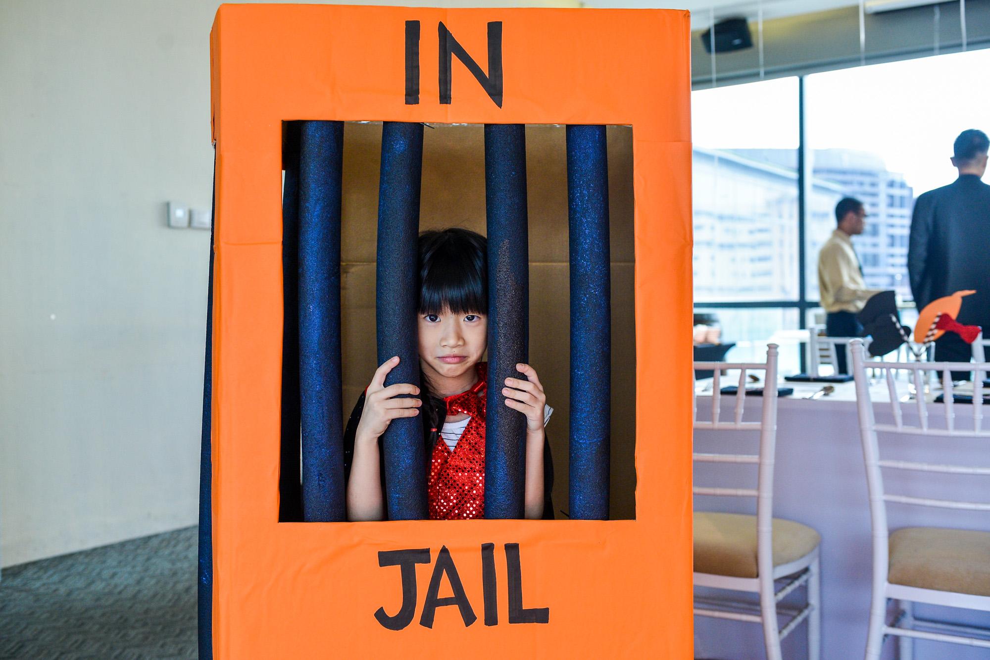 Kid In Jail
