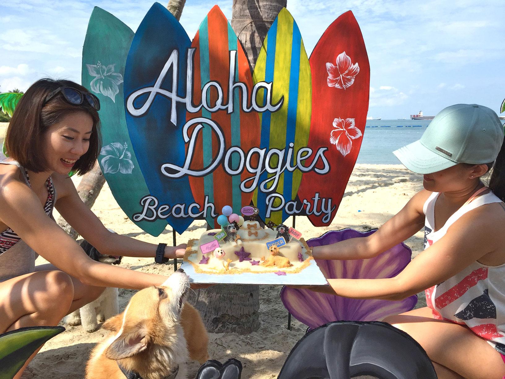 Aloha-Doggies-Beach-Party-cake