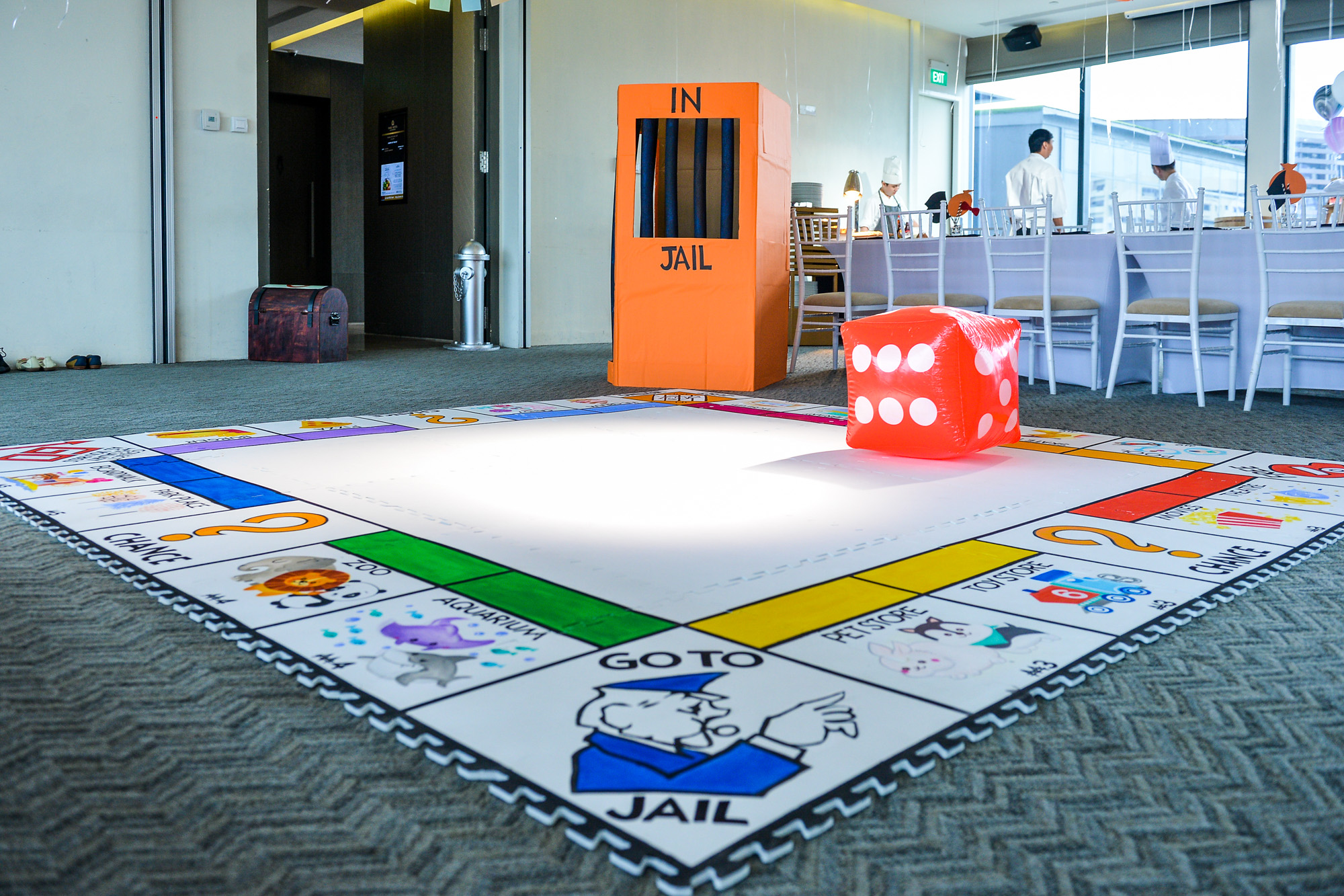 Life Size Board Game