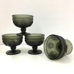 Baroque Black Dessert Cups
