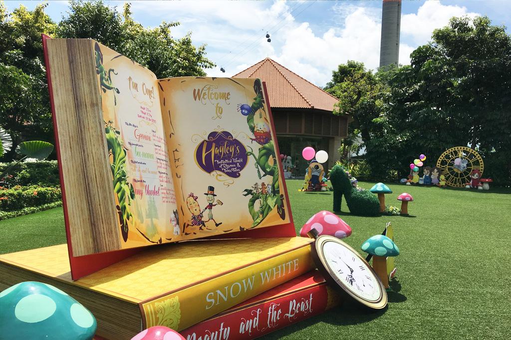 nursery-rhymes-outdoor-lawn-book