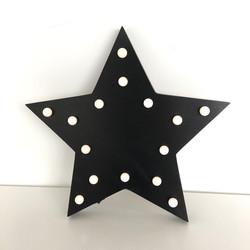 Black Star Deco Lights