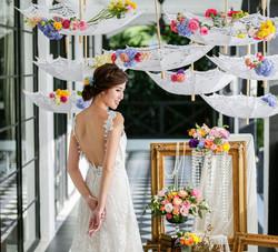 intimate wedding at masons15