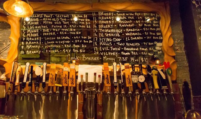 Best Beer spots in NYC