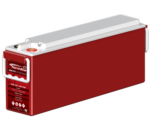 Northstar NSB110FT HT Red Battery