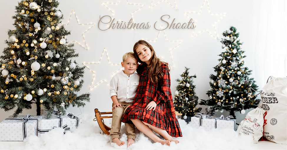 Warwickshire Studio photography Christmas shoots