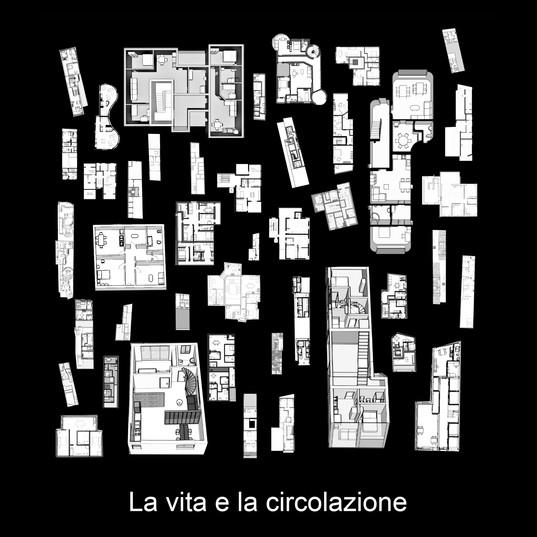 Tav 9 - Collage 5 -  La vita e la circol