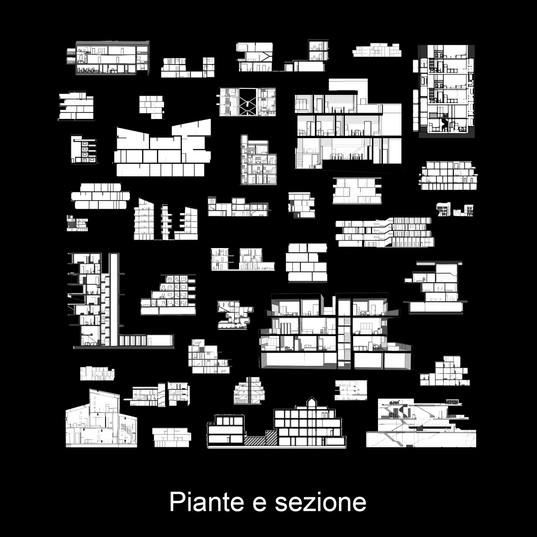 Tav 13 - Collage 6 - piante e sezione.jp