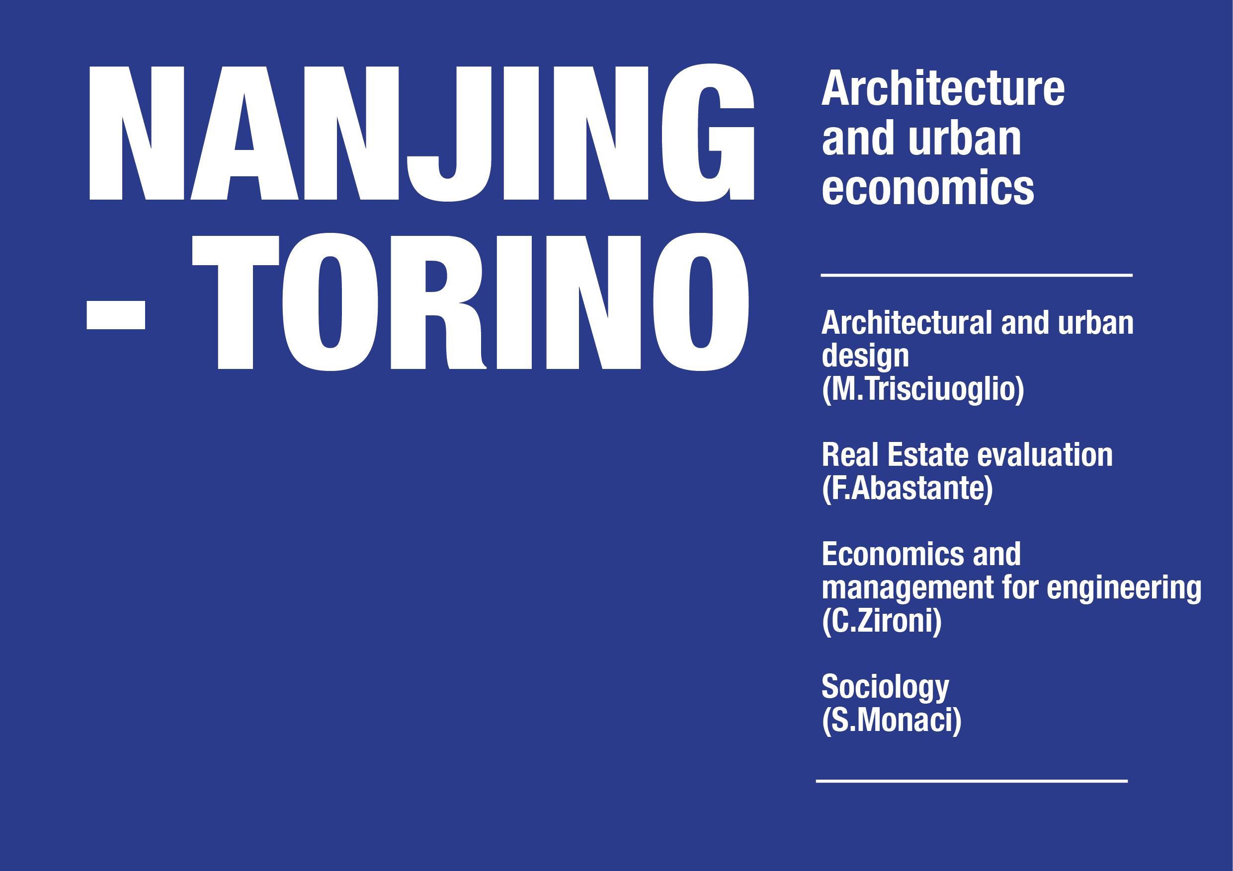 Nanjing/Torino