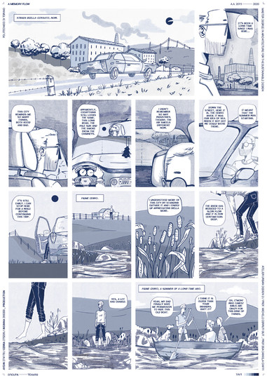 Social Engagement - Graphic Novel exampl