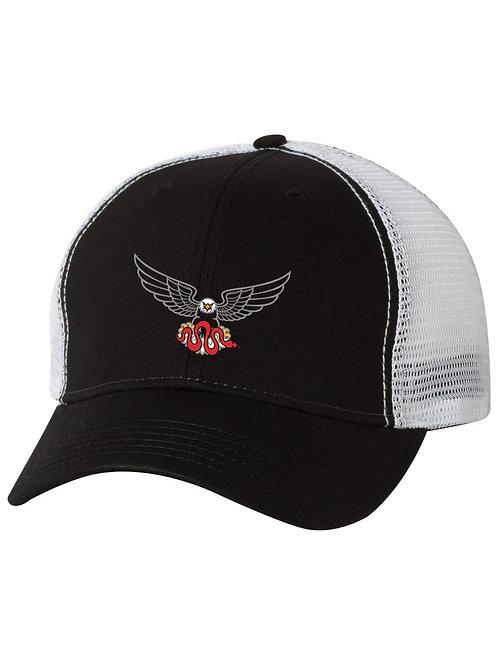 Apex Dash Hat, Black & White