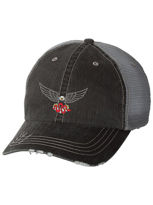 Apex Dash Eagle Hat, Gray