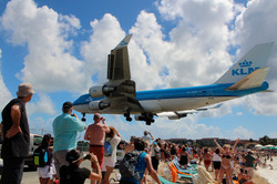 KLM - Maho beach