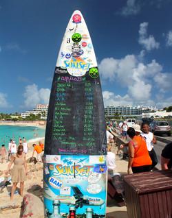 surf board - Maho beach