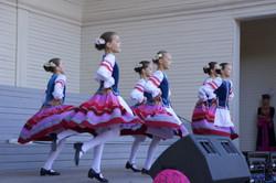 Белорусский танец.