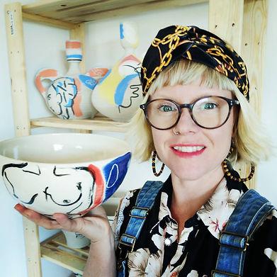 Emily Gibbard, ceramic artist from Bristol