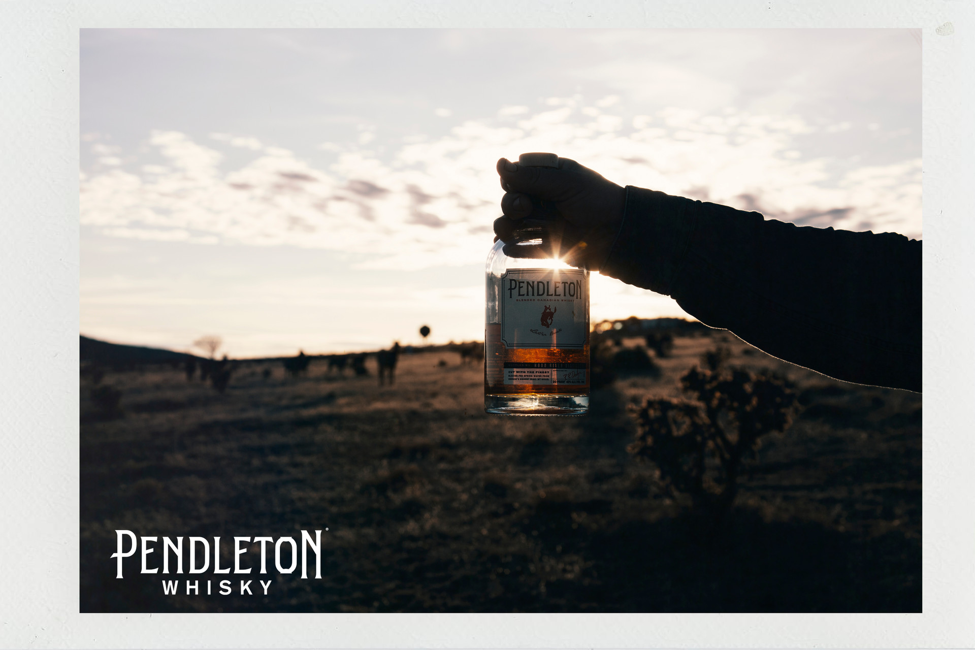 PENDLETON WHISKEY ROBERT W. DEAN