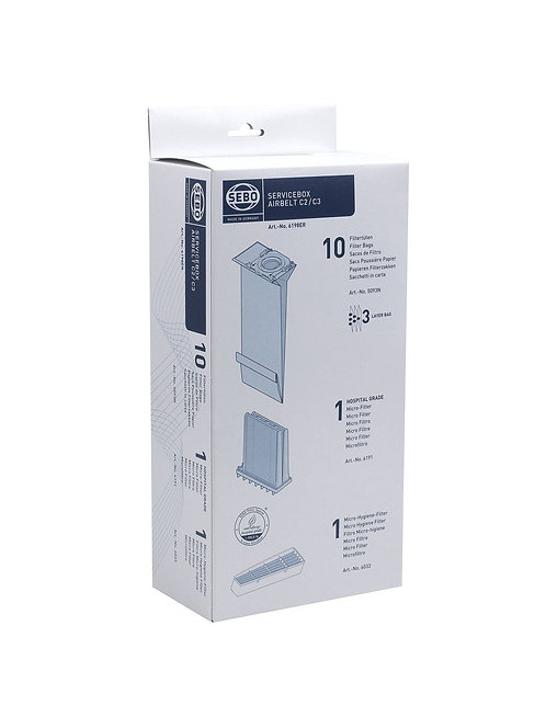 Sebo Service Box for C2/C3 Airbelt Cansiters