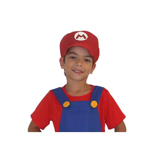 Acessório Chapéu Bombeiro Vermelho & Verde Infantil