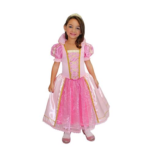 Fantasia Vestido Princesa Festa Da Realeza infantil