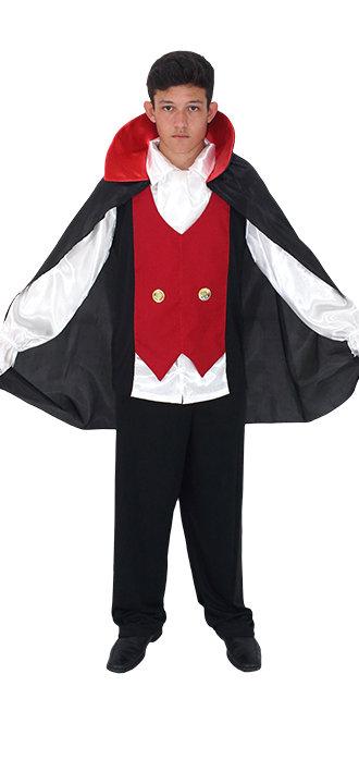 Fantasia Vampiro Drácula Adulto