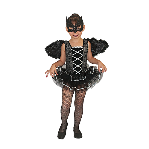 Fantasia Bailarina Cisne Negro Infantil_halloween