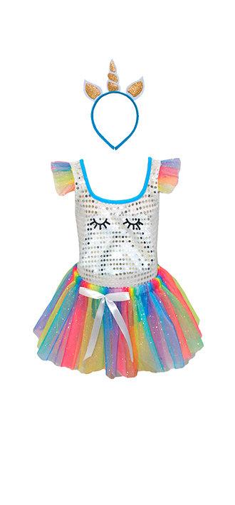 Fantasia Unicórnio Glamour Infantil