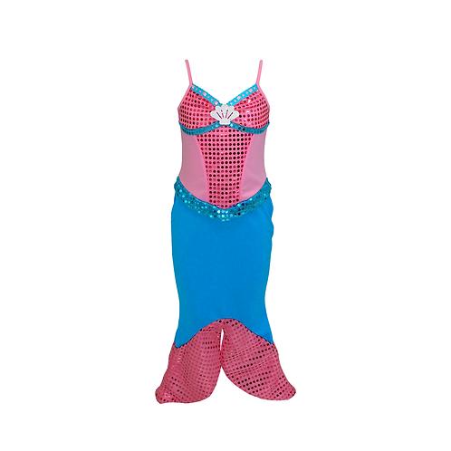 Fantasia Sereia Mermaid Infantil