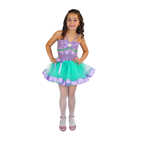 Fantasia Sereia Glamour infantil