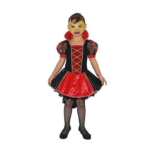 Fantasia Rainha Dark Infantil