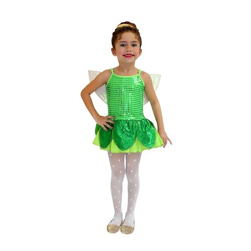 Fantasia Fadinha Verde Infantil