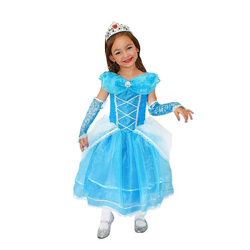 Princesa Cristal Diamante Infantil