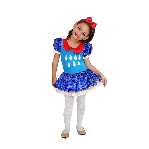 Fantasia Galinha Azul Infantil
