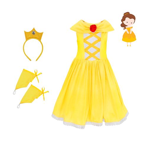 Princesa Ouro Confort Infantil
