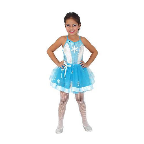 Fantasia Princesa Do Gelo Glamour infantil