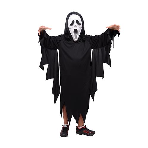 Fantasia Halloween Panico Infantil C/ Máscara