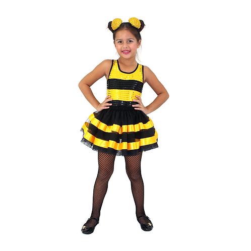 Fantasia Abelhinha Glamour infantil