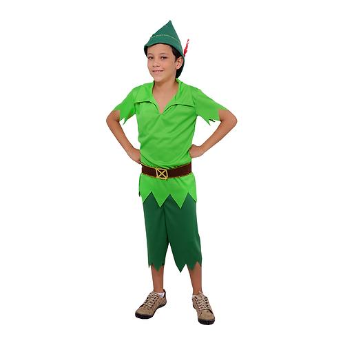 Fantasia Peter Pan Infantil