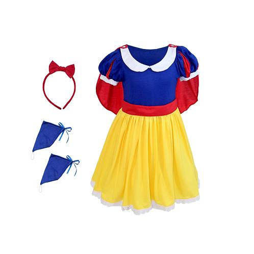 Fantasia Princesa Real Confort Infantil