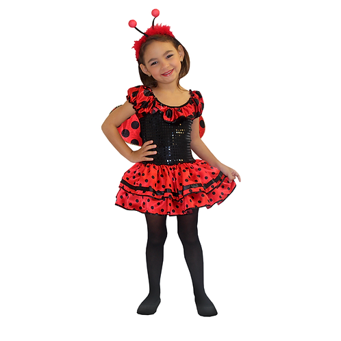 Fantasia Joaninha Infantil