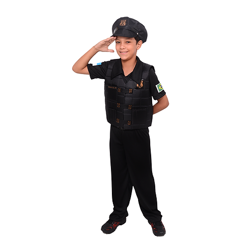 Fantasia Policial Masculino Infantil