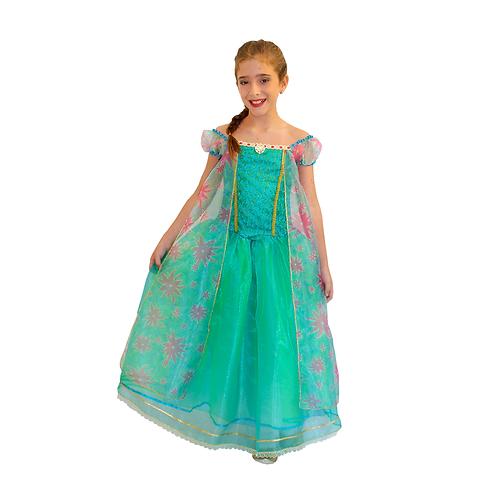 Fantasia Princesa Primavera Infantil