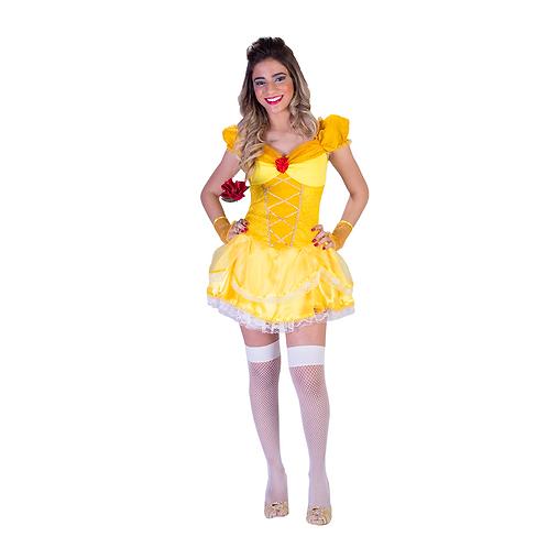 Fantasia Princesa Ouro Adulto - Sexy