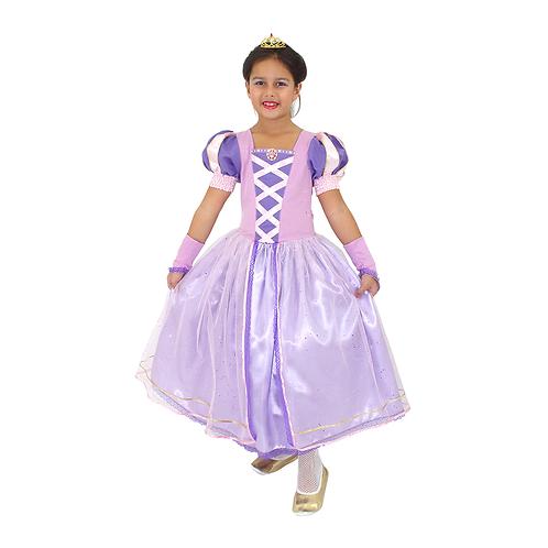 Fantasia Princesa Encantada Infantil - Deluxe