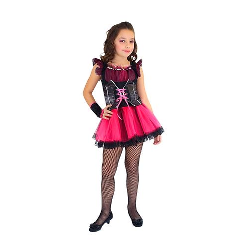 Fantasia Vampira Draculaura - Halloween Infantil