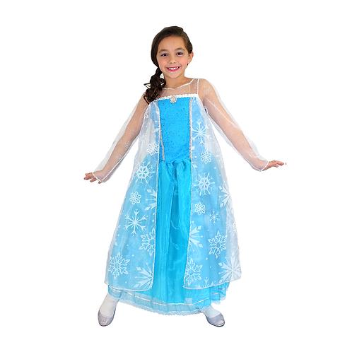 Fantasia Princesa do Gelo Infantil