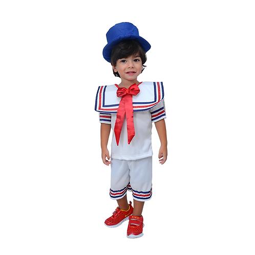 Fantasia Palhaço Patati Infantil
