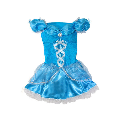 Fantasia Princesa Cristal Adulto Deluxe