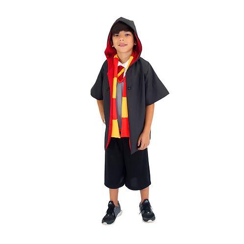 Fantasia Escola De Bruxos Infantil